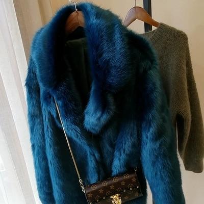 2019 новый стиль высококлассное модное женское пальто из искусственного меха S73