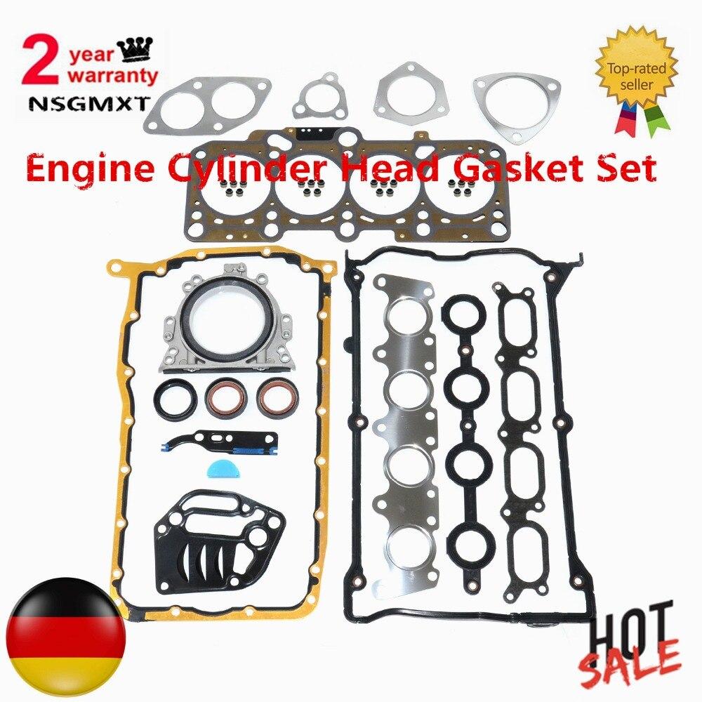 AP01 اسطوانة محرك مجموعة وقاية للرأس لأودي 1.8T 20V TT A3 الحمراء ليون جولف أوكتافيا بورا بيتل باسات شاران جيت