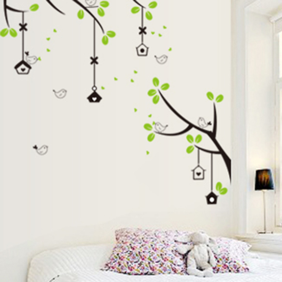 Family photo frame flying birds tree wall stickers arts home family photo frame flying birds tree wall stickers arts home decorations living room bedroom decals posters pvc wall decoration in wall stickers from home amipublicfo Images