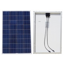 EU AU USA Stock100w 18v A Grade Poly Solar Panel for 12v Battery RV Boat Car Home System No Tax Free Shiping.Within Your Country The Item Will Be Delivered Between 2 To 5 Days Excluding Holidays