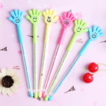 48pcs/lot Korean Creative Cute Funny Joking Finger Gel Pen Unisex Sign Office School Stationery Promotion Gift Prize