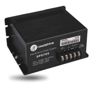 New 350W Leashine SPS705 Specifically designed power supply for stepping / servo drives input180-240V output 68VDC 7A-9A current new 500w leadshine power supply sps608 power stepping and servo drives can out 60vdc and 8 5a current