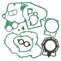LOPOR For KTM 400SX/MXC/EXC, 450EXC Engine Gasket Kit Cylinder Top End Crankcase Stator Clutch Cover Exhaust Seals Set