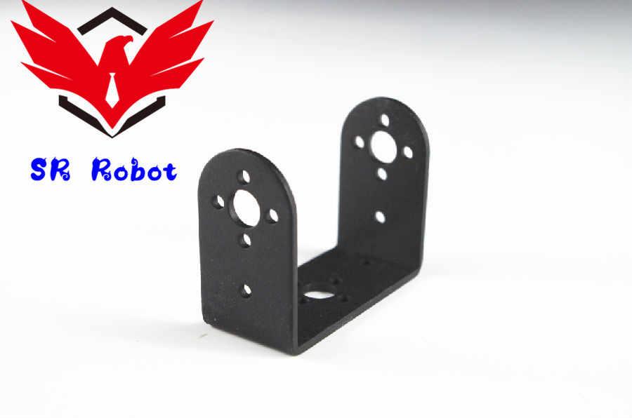 ショート U 型サーボブラケット標準サーボステアリングブラケットに DIY ヒューマノイドロボットアームロボットパーツアクセサリー Arduino の上おもちゃ