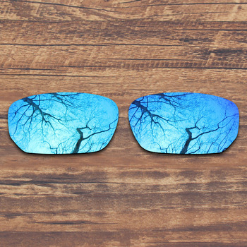 ToughAsNails Polarized Replacement Lenses for Oakley Style Switch Sunglasses Blue Mirrored Color (Lens Only)