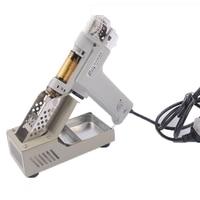 1 pcs Alta Qualidade S-998P 110/220 V 100 W Double-Bomba de Vácuo Elétrica Solda Otário Desoldering Gun Ferro de solda