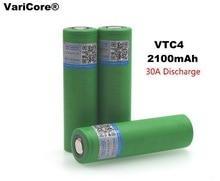 3 PCS VariCore Original US18650 VTC4 2100 mAh 18650 3.6V Lithium Battery Charging Electric Vehicle Electronic Cigarette for Sony