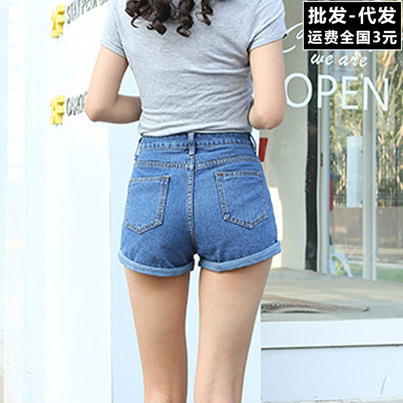 2019 Sexy Summer Women Denim   Shorts   2018 New High Waist   Short   Jeans Femme Hot Beach PN-08