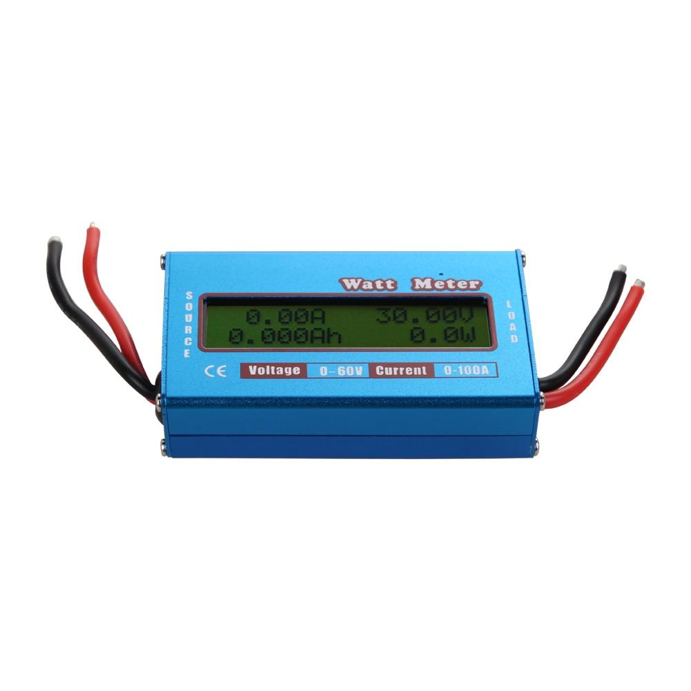 Цифровой ЖК-дисплей Ватт метр Батарея баланс 60V100A DC RC <font><b>AMP</b></font> Analy Вольт Амперметр
