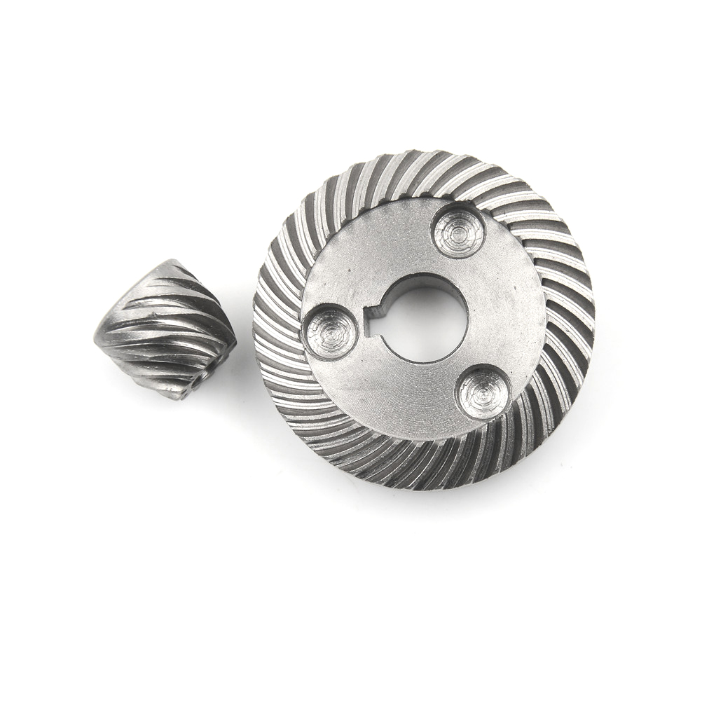 1Set Electric Spiral Bevel Ring Pinion Gear Set Power Transmission Parts Gear Hardware High Quality electric spiral bevel ring pinion angle grinder gear set for hitachi 100