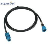 Superbat Vehicle Automobile High Speed Transmission FAKRA HSD Z Water Blue LVDS 1m Shielded Dacar 535