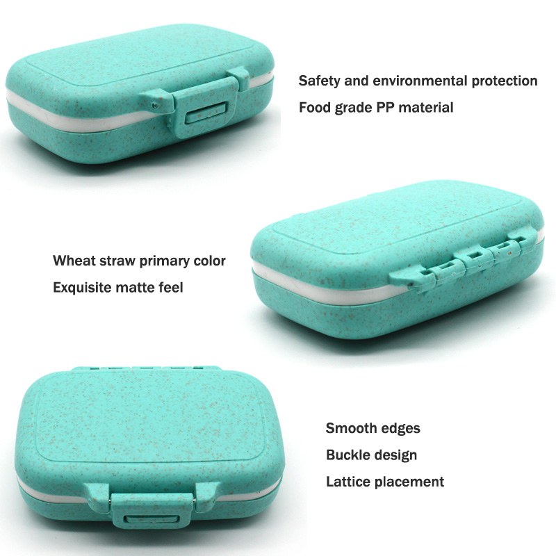 Portable 3 Grids Pill Box Case Organizer Plastic Storage Container Box Tablet Case Holder Pill Case Splitter Medicine Box in Pill Cases Splitters from Beauty Health