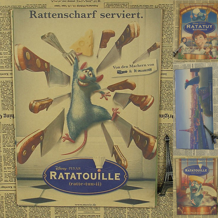 """ratatouille film essay Remy the rat and linguini from ratatouille -- the us postal service rolled out a new set of forever stamp designs titled """"send a hello"""", which features characters from some of."""