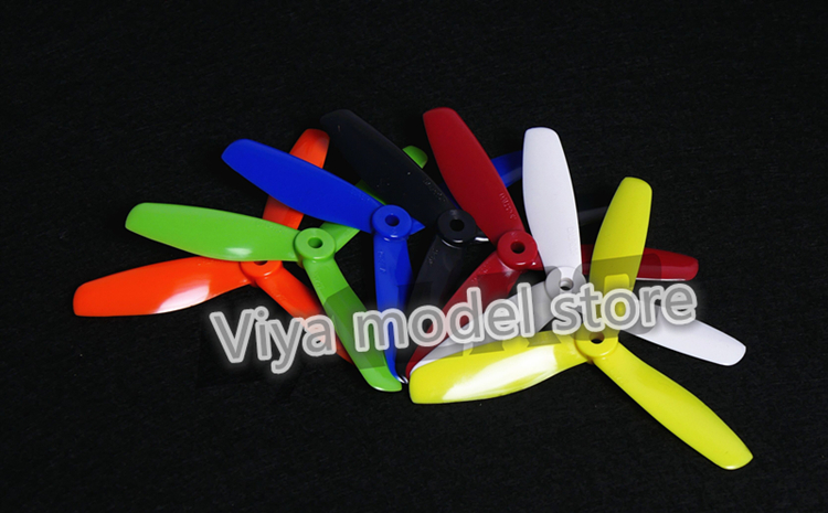 DALPROP 100 pairs CW/CCW of T5045BN V2 bullnose propeller 3 blades for DIY mini race FPV drones QAV210/qav180/Q250/robocat 270 t motor 1255 three hole carbon fiber propeller cw ccw for rc aircraft 2 pairs