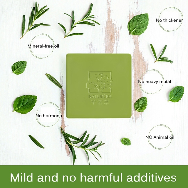 Tea Tree Essential Oil Handmade Soap Moisturizing Acne Remover Soaps Oil Control Cleaning Skin Care p1 5