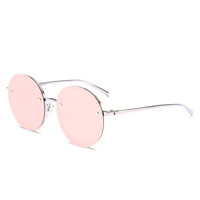2017 New Color Sunglasses Women Men Unique Oversize Shield UV400 Gradient Vintage Brand Designer Eyeglasses Frames Rimless Glass