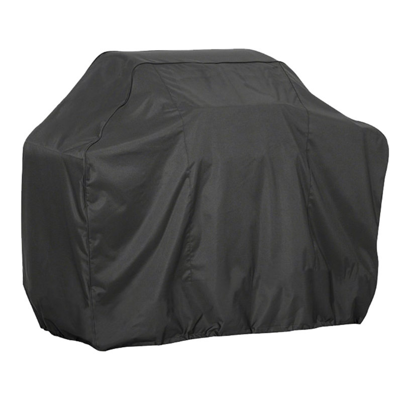 Black Waterproof BBQ Cover Grill Cover Anti Dust Rain Gas Charcoal Electric Barbeque Grill Cover BBQ Accessories