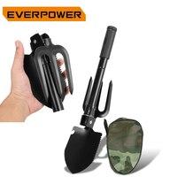 Everpwer Folding Shovel Spade Military Foldable Mini Garden Rake Survival Sapper Shovels Camping Gardens Gardening Tools