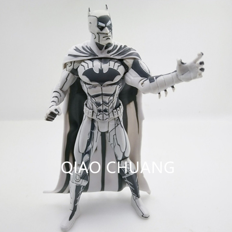 DC COMICS Superman / Batman Blueline Edition PVC Action Figure Collectible Model Toy 16.5CM The Sketch Version Decoration G86 neca dc comics batman superman the joker pvc action figure collectible toy 7 18cm