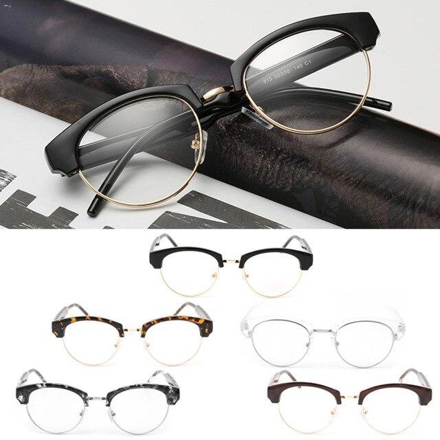 79ab8ef3b41 Vintage Men Women Eyeglass Frame Glasses Retro Spectacles Clear Lens  Optical Hot
