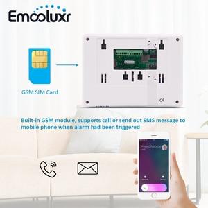 Image 4 - Sistema de alarma GSM de voz francesa Android IOS aplicación remota, ST IIIB de alarma de seguridad de intrusión con Sensor de movimiento PIR Pet