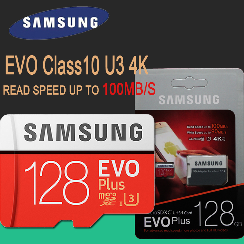 Samsung Telefon Karte Tf Speicher Karte Micro Sd 16 Gb 32 Gb 64 Gb 128 Gb 256 Gb Gebühr Sdhc Grade Evo Plus-class 10 C10 Karten Flash Micros Home