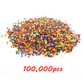 100,000 Pcs Soft Crystal Water Paintball Bullet Arma Orbeez Gun Toy Arme  Bibulou Air Water Gun Bullet Pisol Bead For Nerf Gun