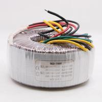 200 W Çift 25 V + Çift 15 V HiFi Toroidal Trafo Tam Bakır ses amplifikatörü 200VA Trafo LM3886 Güç amp|Amplifikatör|Tüketici Elektroniği -