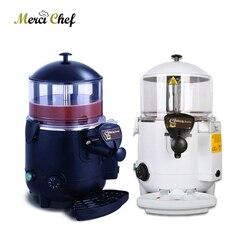 ITOP Hot Chocolate Dispenser Machine Water Bath System 5L Hot Beverage Coffee Milk Tea Mixer Hot Chocolate Warmer Machine