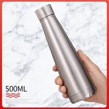 Sport water bottle Coke Coffee Thermos Stainless Steel shaker bottle Insulated Tumbler Beer Milk Tea Thermal Cup Vacuum Flask 500ml fashion bullet vacuum flask stainless steel thermos portable vacuum insulated water bottle sport thermal thermos flask