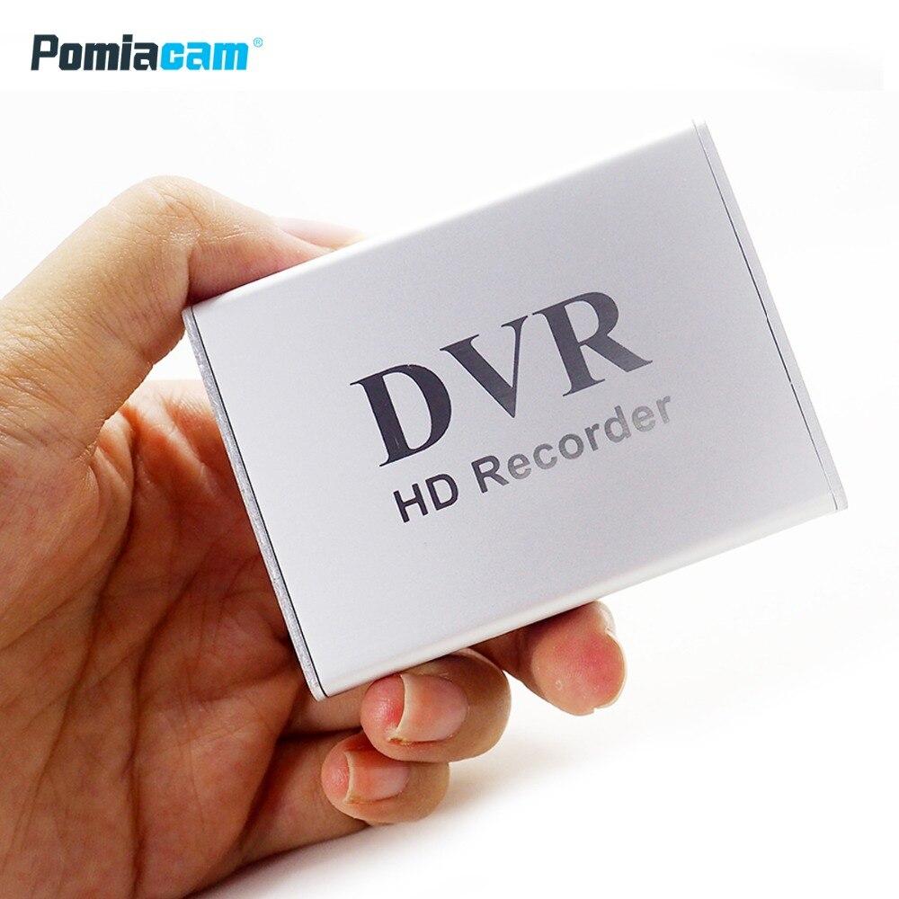 X-boîte Nouveau 1Ch Mini DVR Soutien SD Carte en temps Réel HD 1 Canal cctv DVR Enregistreur Vidéo conseil Vidéo Compression Couleur Blanc