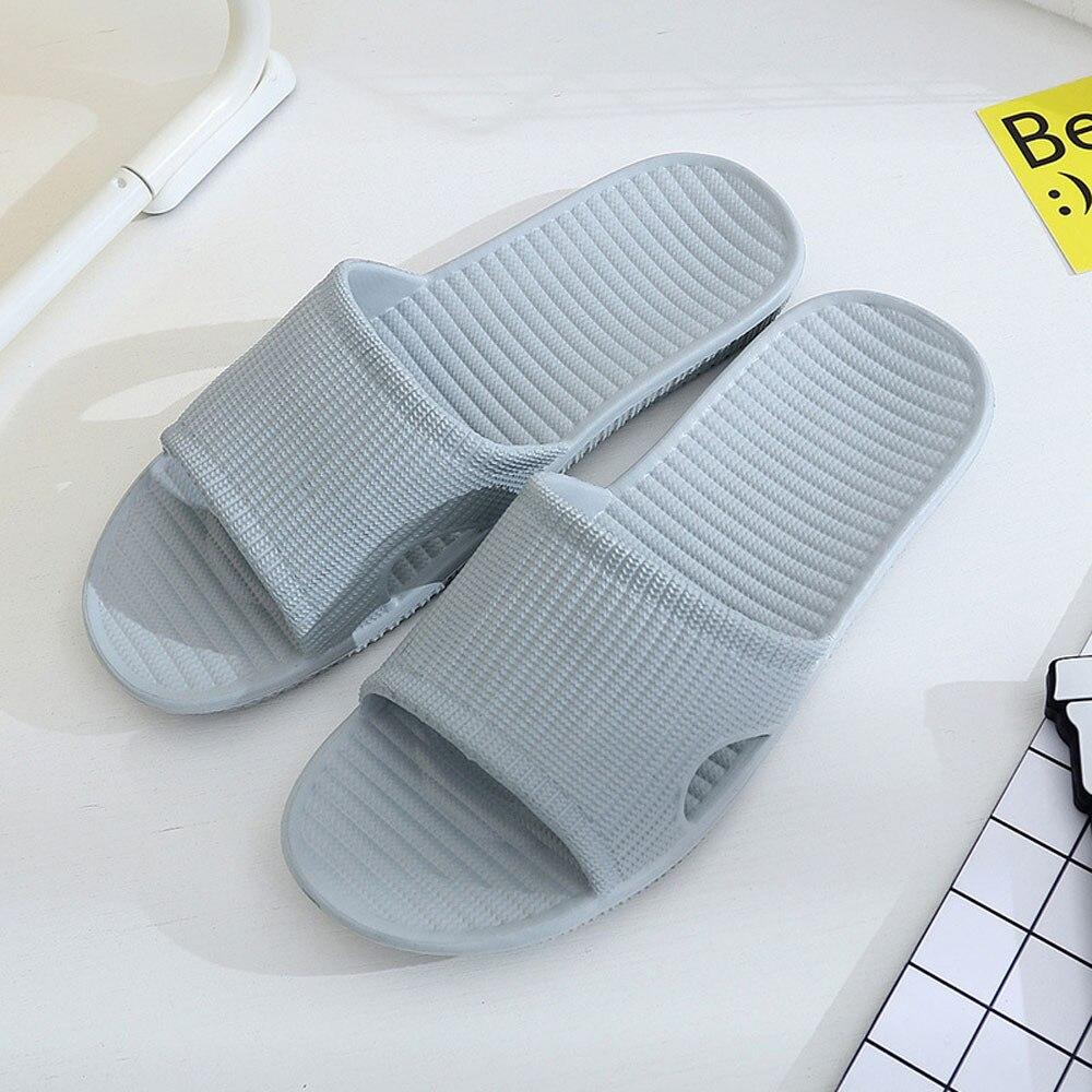 100% Wahr Männer Hausschuhe Casual Schwarz Und Weiß Schuhe Non-slip Rutschen Bad Sommer Sandalen Weiche Sohle Flip-flops Mann Exquisite Traditionelle Stickkunst
