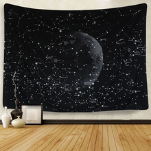 Moon Constellations Tapestry Wall Bohemian Hanging Tapestries Decor wall cloth tapestries