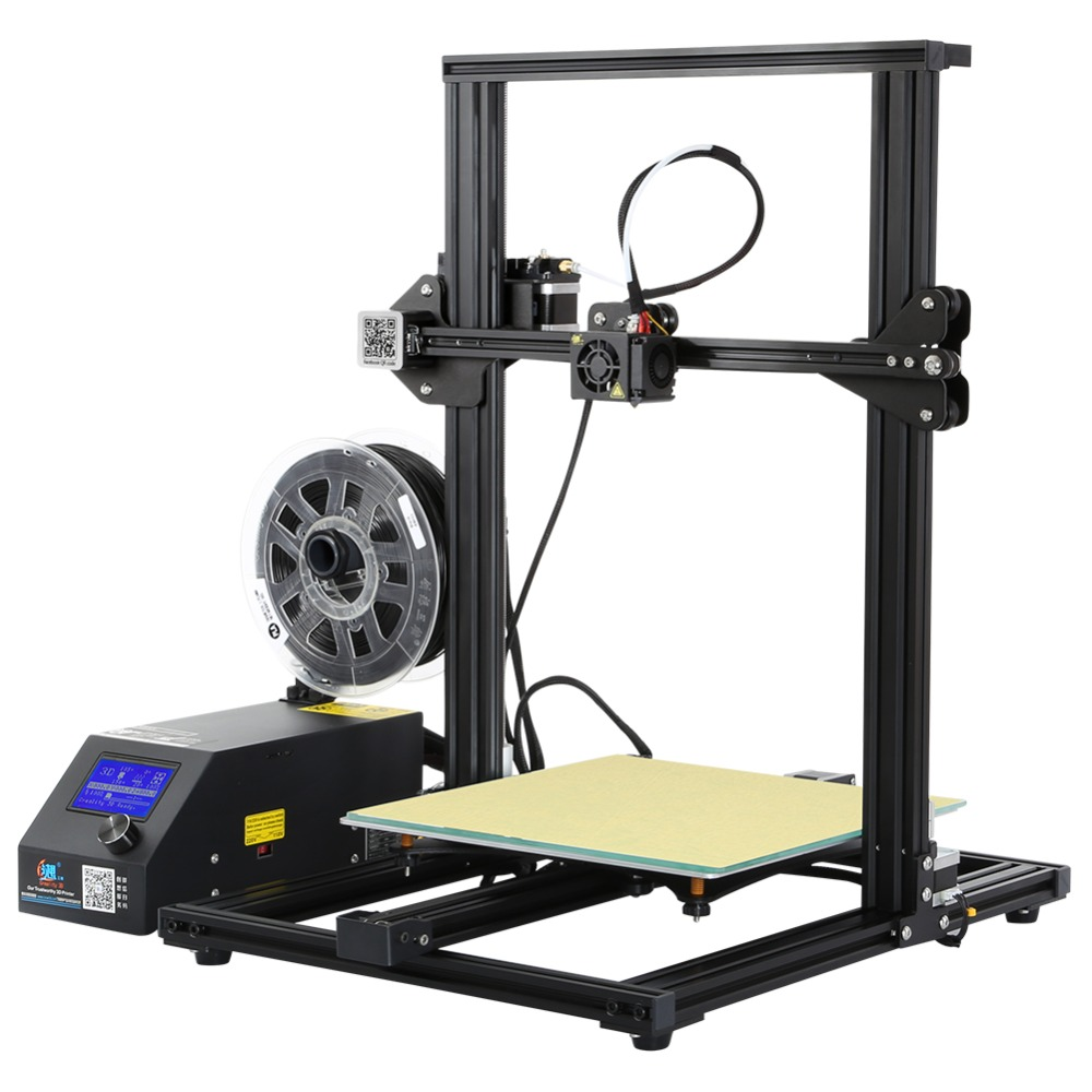 3D Printer Creality 3D CR-10S Dua Z Rod Filament Sensor/Detect Resume Power Off Optional 3D Printer DIY Kit creality 3d cr 10s diy 3d printer kit large printing size 300 300 400mm dual z rod resume printing filament detect function