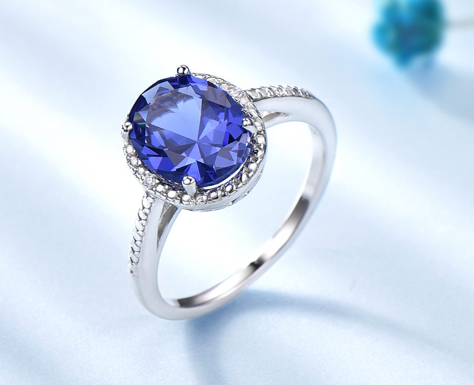 UMCHO-Tanzanite-silver-sterling-rings-for-women-RUJ076T-1-PC (2)