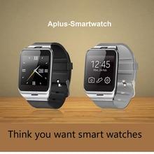 Neue gv18 plus smart watch wasserdicht telefon nfc kamera wrist uhr sim-karte smartwatch für samsung android iphone7 pk xiaomi U8