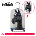 Animal Horse Print Luggage Protective Cover For 18-30 Inch Trunk Case Elastic Stretch Suitcase Protect Cover Travel Accessories