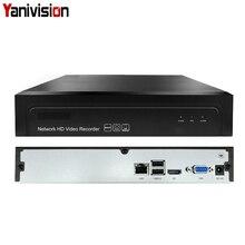 16CH 5MP 1HDD NVR H.265 +/H.265/H.264 CCTV UHD DVR Registratore Video di Rete Onvif 2.6 IP Della Macchina Fotografica 1 SATA P2P Nube AEeye2.0