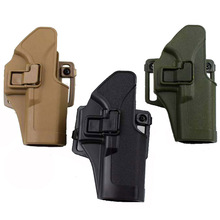 Left / Right Hand Military Tactical Glock 17 19 22 23 31 32 Airsoft Pistol Gun Belt Holster Hunting Accessories