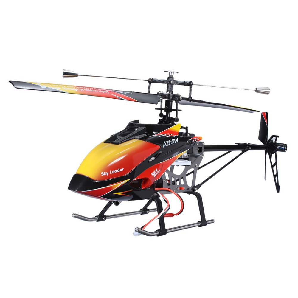 Wltoys V913 Large Alloy Brushless Version 2.4G 4CH RC Remote Control Helicopter with Gyro remote control charging helicopter