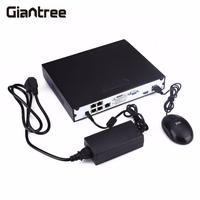 giantree POE NVR 4CH DVR Monitoring Hard Disk Recorder USB Port 4 Channel Home Security Video Recorder Audio For Analog Camera