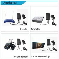 Mini UPS 12V 2A For Fingerprint Device Fire Safety System Security Monitoring System Wireless Camera Emergency