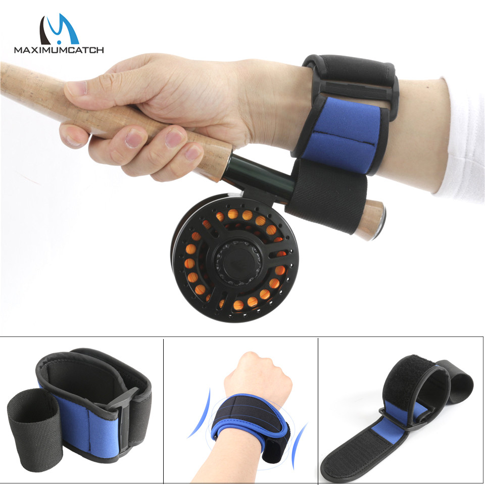 Maximumcatch Neoprene Fly Fishing Wrist Support Soft Elastic Cushion Attachment Fishing Accessory