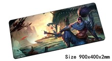 Personality Yasuo mouse pad 90x40cm pad mouse lol notbook computer mousepad Unforgiven gaming padmouse gamer laptop mouse mats