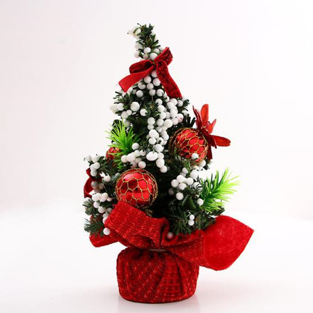 20cm With Ornaments Christmas Tree Christmas Day Decorations Desktop