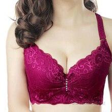 OUDOMILAI Push Up Bra Big Size Lace Bralette lingerie set plus size Sexy Brassiere Underwear Padded C D Bh Plus Bras For Women