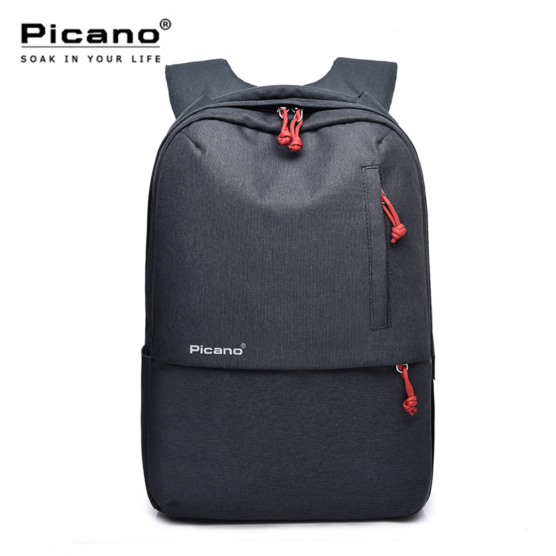 Picano Waterproof Backpack USB Charging Business Bagpack Female College Notebook Mochila Hombre Tourist Rucksack Plecak PCN038