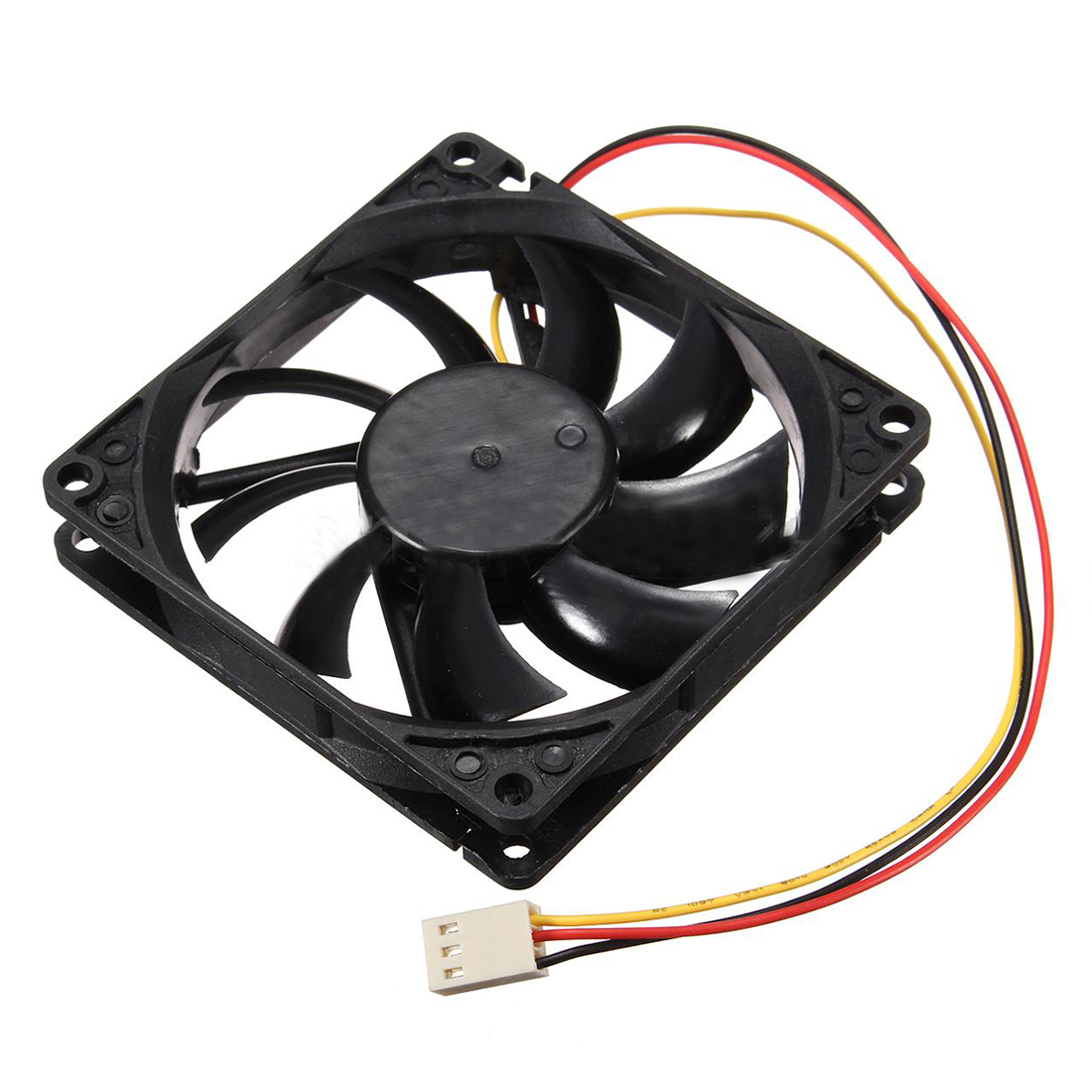 12V 3 Pin CPU Fan Heatsink Cooler Heatsink Fan For PC 80x80x15mm v 3 12