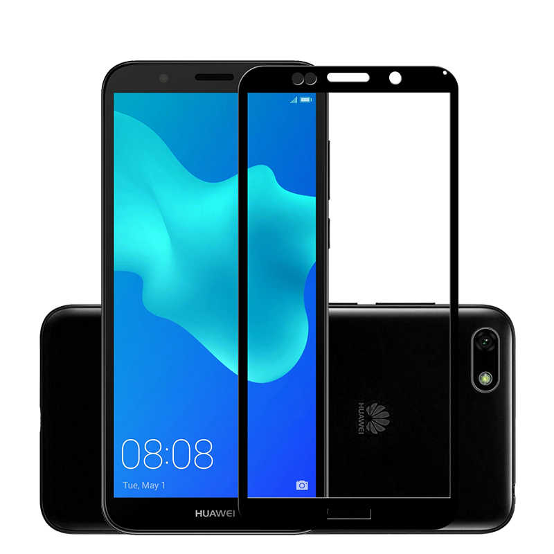 Uppbo 3D Protective Glass For Huawei Y5 Prime 2018 Honor Play V8 9N 9 7S 9i 2018 7 Tempered Glass Nova Screen Protector
