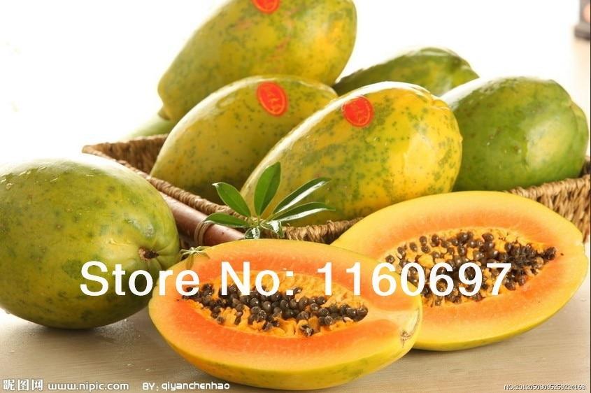 100 Pcs Papaya Seed Seeds Fruit Vegetables Flower Home Planting Plant Neue de